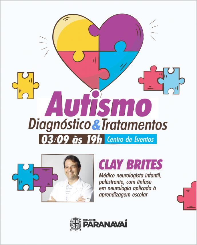 Interessados em participar de palestra sobre autismo devem se inscrever pela internet