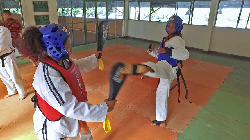 Estão abertas as inscrições para aulas de artes marciais no Centro de Treinamento