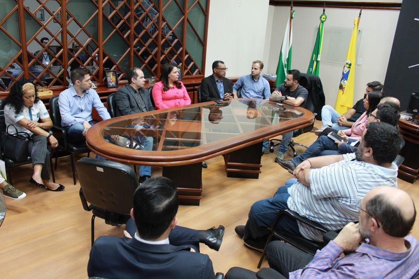 Paranavaí recebe visita técnica do Separtec para credenciamento do Parque Tecnológico