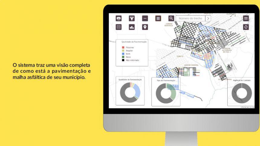 Aplicativo que mapeia asfalto já está em funcionamento