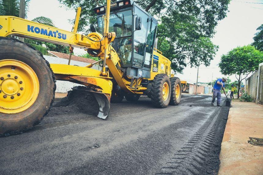 Com investimentos históricos, Prefeitura totaliza 300 mil m2 de recape em Paranavaí