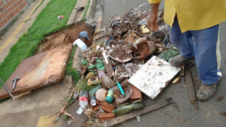 Infraestrutura limpa, em média, 100 bocas de lobo por mês em Paranavaí