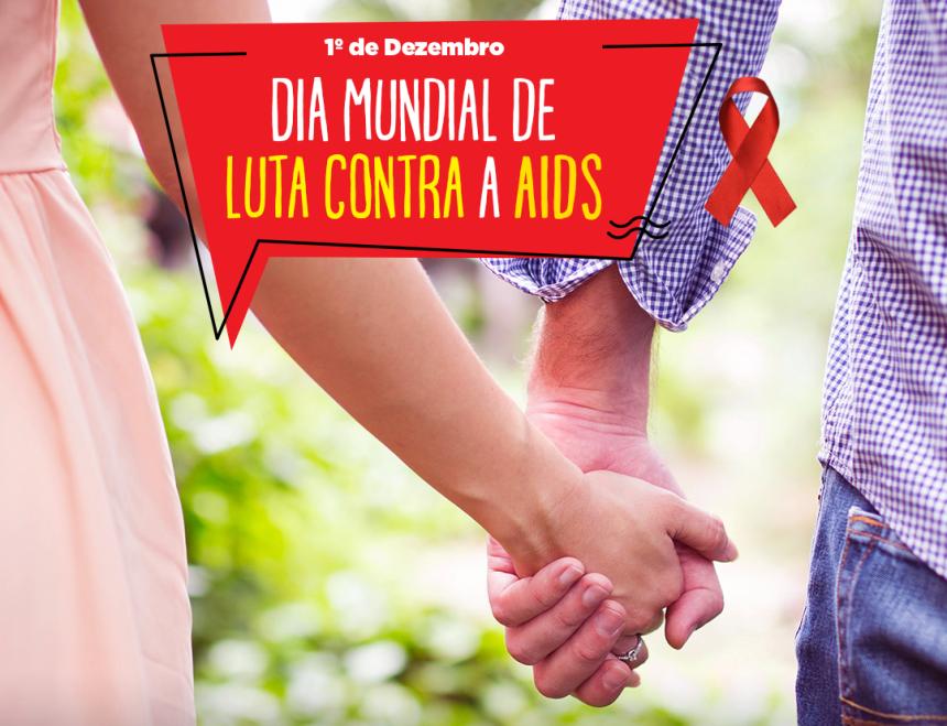Sábado tem ações de prevenção no Dia Mundial de Luta contra a AIDS