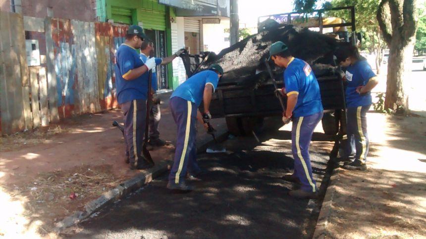 Município recupera 2km da ciclovia da Vila Operária