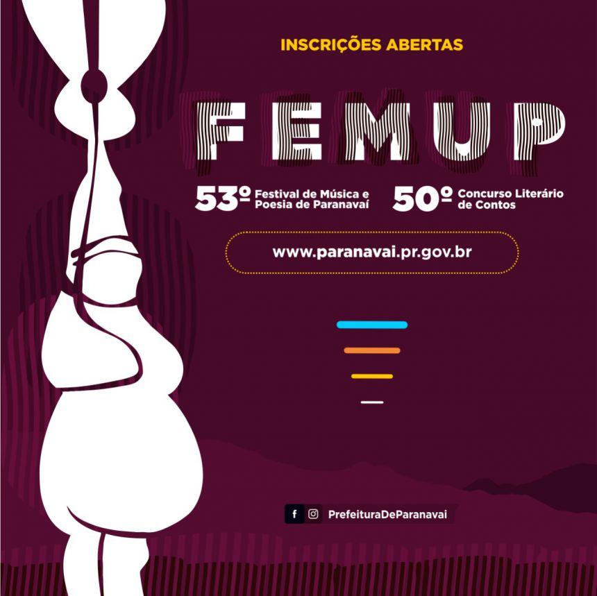 Femup já recebeu inscrições de 29 cidades e 7 Estados brasileiros