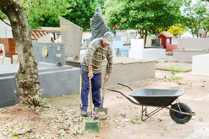 Prazo para limpeza de túmulos vai até quarta