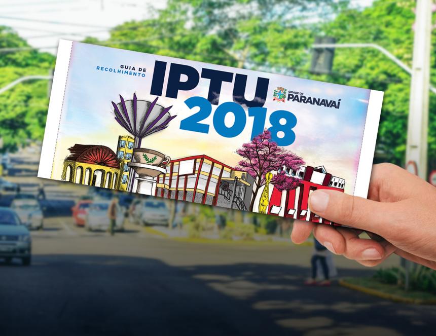 Boletos do IPTU 2018 começam a ser entregues pelos Correios nesta sexta